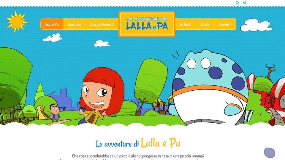 Le avventure di Lalla e Pa - Antech realizzazione siti web