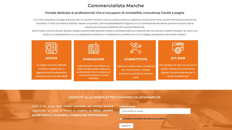 Commercialista Marche