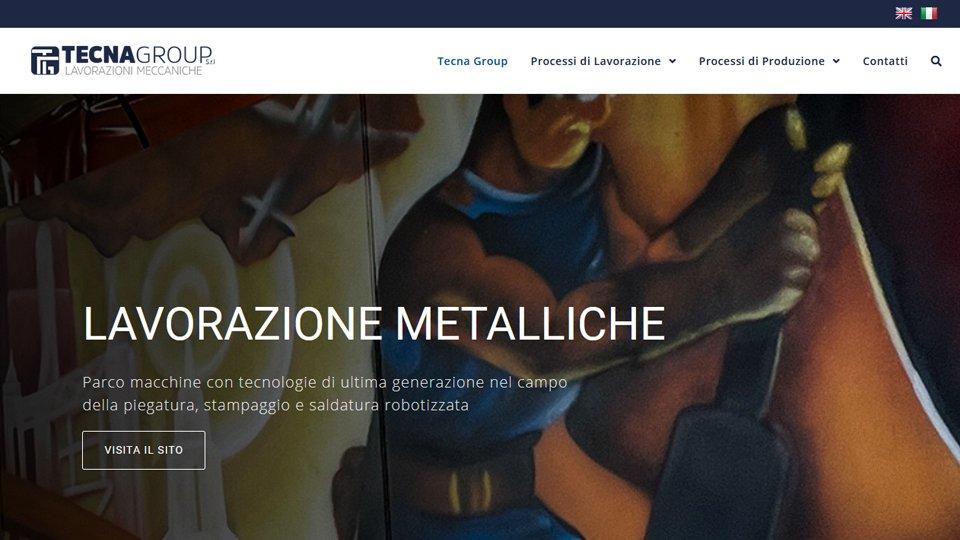 Tecna Group - Lavorazioni Metalliche